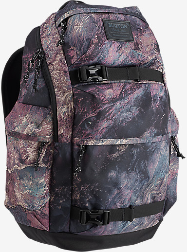 Burton Kilo Backpack shown in Earth Print