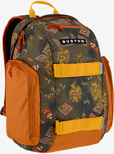 Burton Kids' Metalhead Backpack shown in Junk Food Print