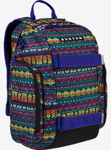 Burton Kids' Metalhead Backpack shown in Figaro Stripe Print