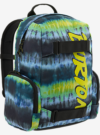 Burton Youth Emphasis Backpack shown in Surf Stripe Print