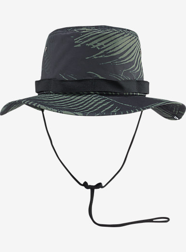 Analog Jungle Bucket Hat shown in 29 Palms Black