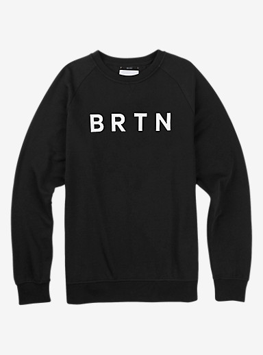 Burton BRTN Crew shown in True Black