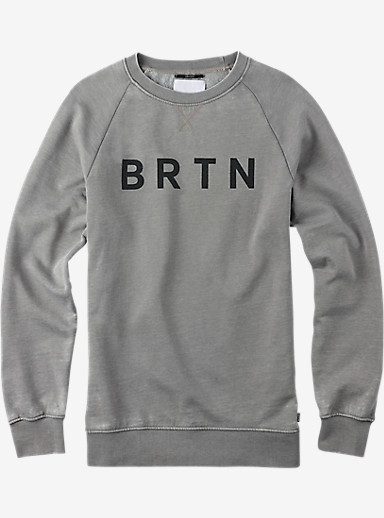 Burton BRTN Crew shown in Gray Heather