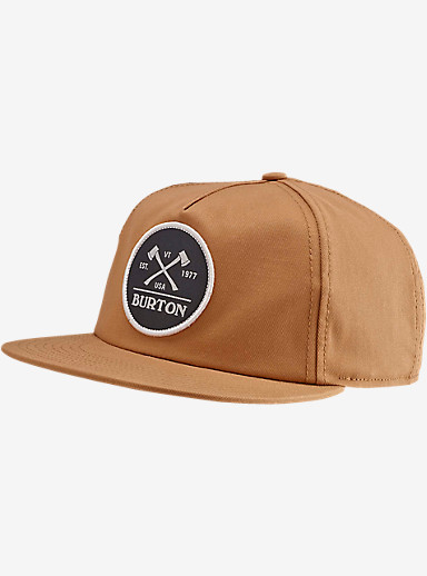 Burton Woodsman Snap Back Hat shown in Bistre