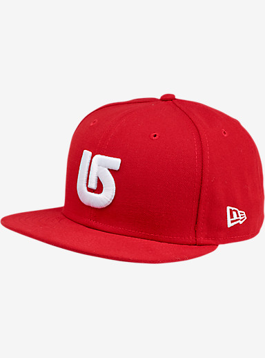 Burton ADL New Era Hat shown in Fiery Red