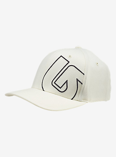 Burton Slidestyle Flex Fit Hat shown in Stout White