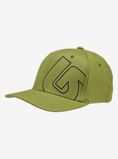Burton Slidestyle Flex Fit Hat shown in Olive Branch