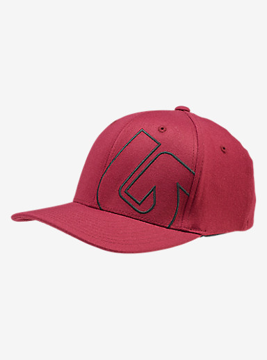 Burton Slidestyle Flex Fit Hat shown in Wino