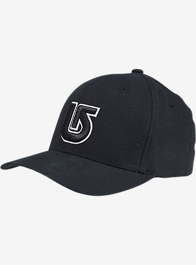 Burton Striker Flex Fit Hat shown in True Black