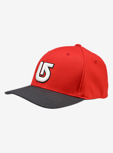 Burton Striker Flex Fit Hat shown in Process Red