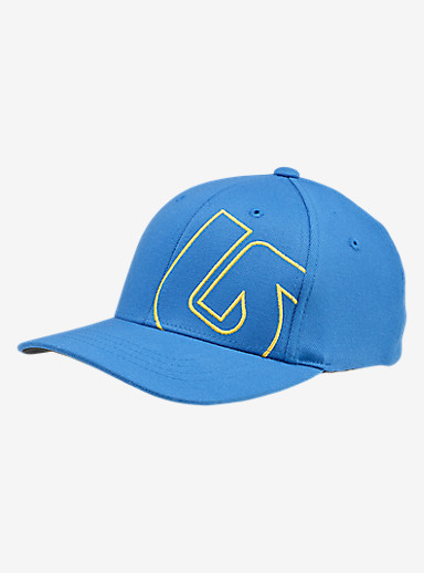 Burton Boys' Slidestyle Flex Fit Hat shown in True Blue