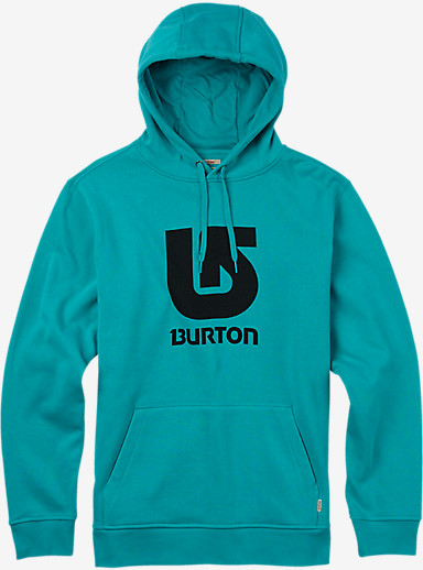 Burton Logo Vertical Fill Pullover Hoodie shown in Eventide