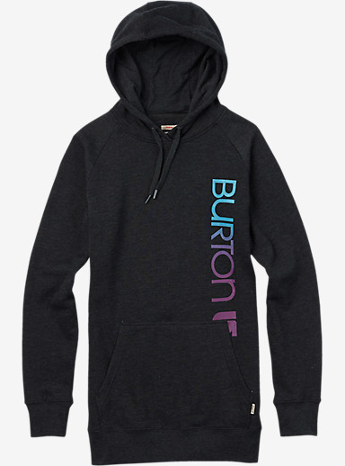 Burton Antidote Pullover Hoodie shown in True Black
