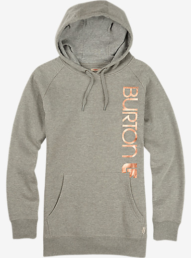 Burton Antidote Pullover Hoodie shown in Gray Heather