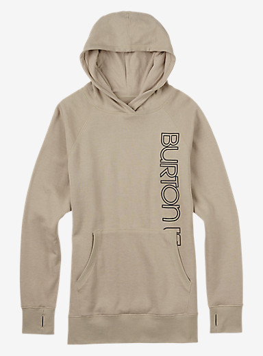 Burton Antidote Pullover Hoodie shown in Dove Heather