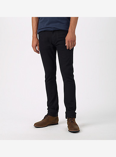 Burton B77 Skinny Denim Pant shown in True Black