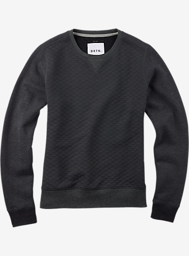 Burton Ash Fleece shown in Dark Ash Heather