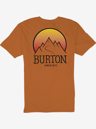 Burton Vista Slim Fit Short Sleeve T Shirt shown in Maui Sunset