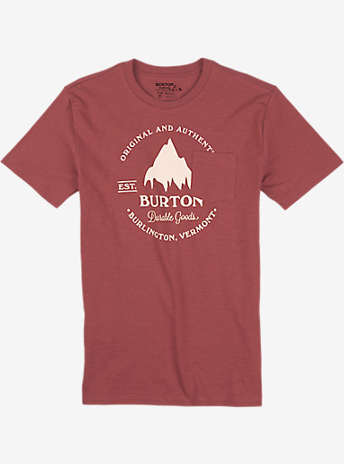 Burton Gristmill Short Sleeve Pocket T Shirt shown in Dusty Cedar