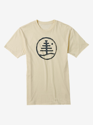 Burton Family Tree Recycled Slim Fit T Shirt shown in Canvas Heather