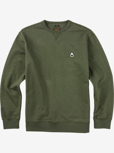 Burton Roe Crew shown in Olive Night Heather