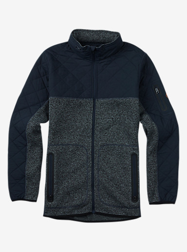 Burton Pierce Fleece shown in Eclipse