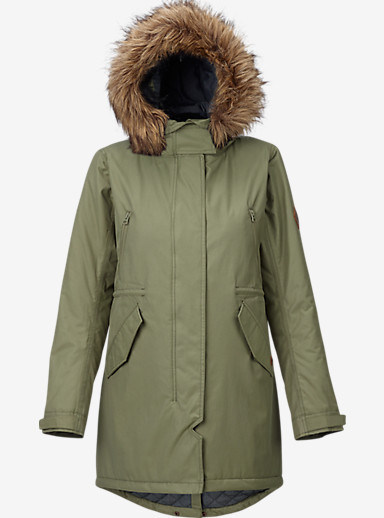 Burton Barge Jacket shown in Vetiver