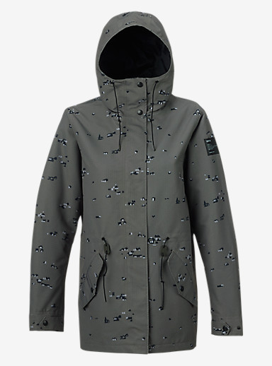 Burton Sadie Jacket shown in Keef Fleck Camo