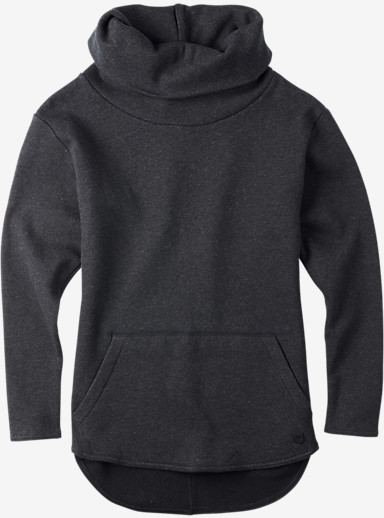 Burton Ellmore Pullover shown in True Black Heather