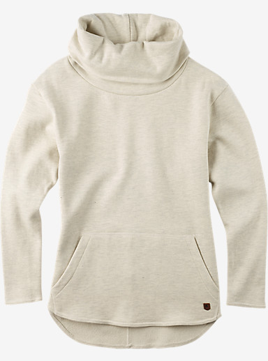 Burton Ellmore Pullover shown in Vanilla Heather