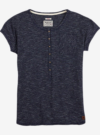 Burton Salvador Short Sleeve Tee shown in Indigo Stripe