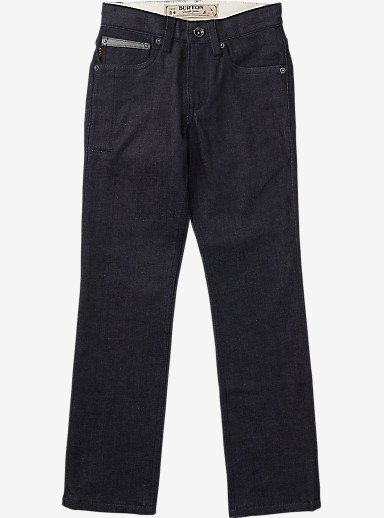 Burton Boys' B77 Pant shown in Raw Denim