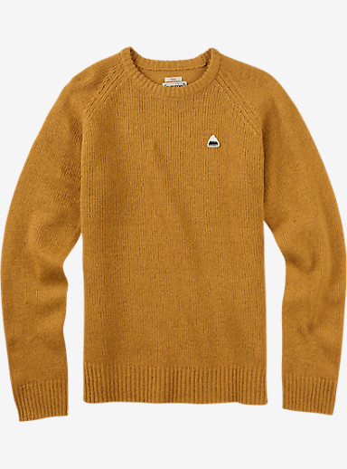 Burton Gus Sweater shown in Wood Thrush Heather