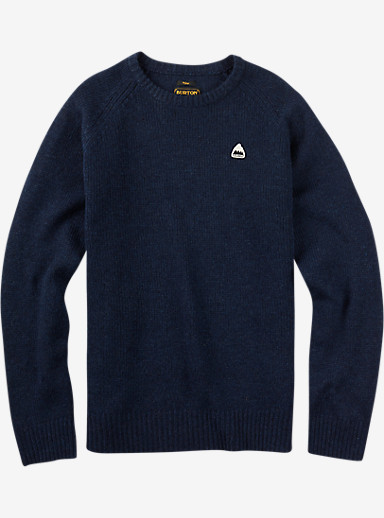 Burton Gus Sweater shown in Dress Blues Heather