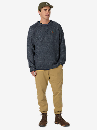Burton Gus Sweater shown in True Blue Heather