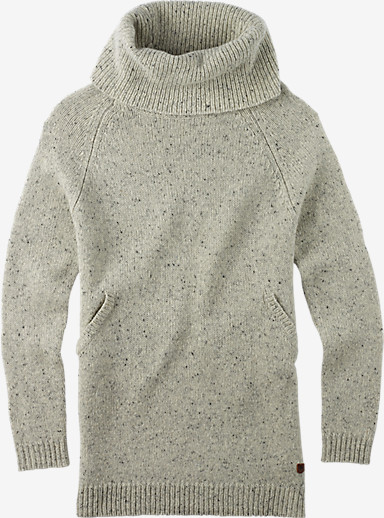 Burton Avalanche Sweater shown in Vanilla Heather