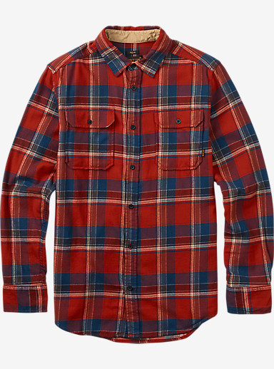 Burton Brighton Flannel shown in Chili Pepper Utica