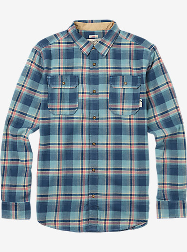 Burton Brighton Flannel shown in Dark Denim Newport