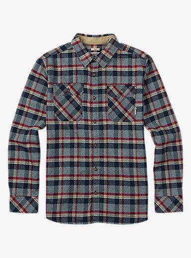 Burton Brighton Flannel shown in Dark Ash Yolo Plaid