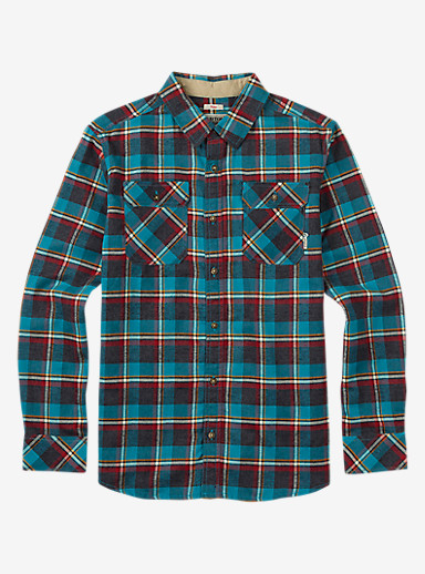 Burton Brighton Flannel shown in Larkspur Yolo Plaid