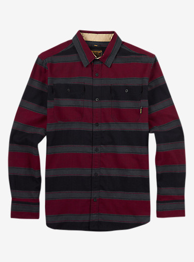 Burton Brighton Flannel shown in Wino North End