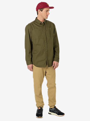 Burton Glade Long Sleeve Shirt shown in Keef