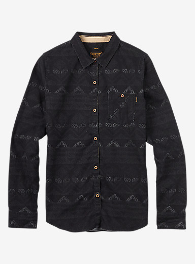 Burton Grace Long Sleeve Woven shown in Carter