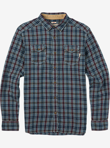 Burton Willow Flannel shown in Eclipse West Plaid