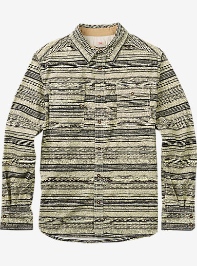 Burton Mill Long Sleeve Woven Shirt shown in Canvas Yarny