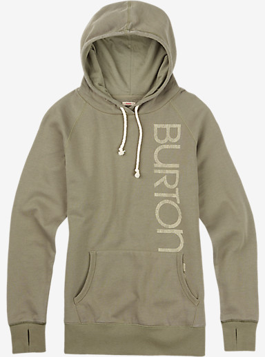 Burton Custom Antidote Pullover shown in Vetiver Heather