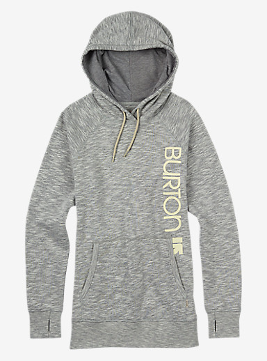 Burton Custom Antidote Pullover Hoodie shown in Gray Heather