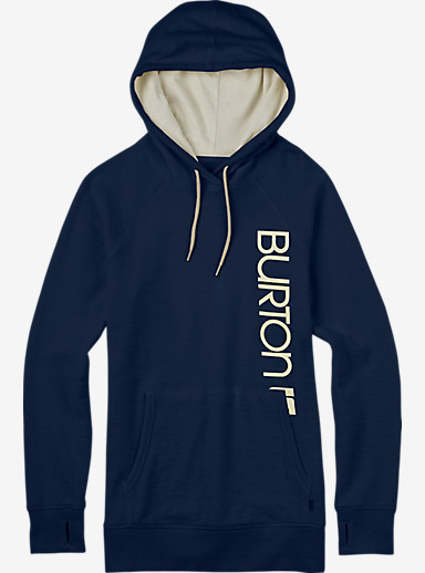 Burton Custom Antidote Pullover Hoodie shown in Eclipse Heather