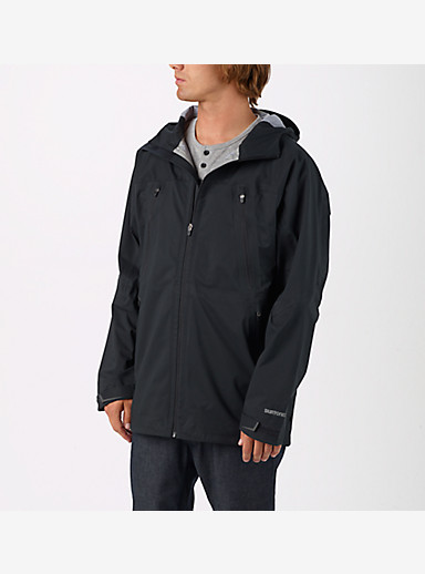 Burton Shadow Rain Jacket shown in True Black