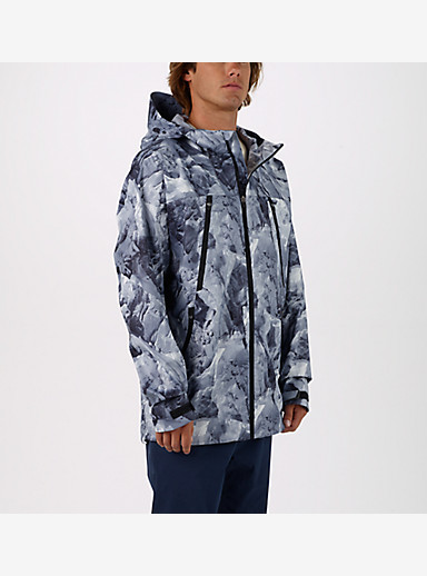 Burton Shadow Rain Jacket shown in Glacier